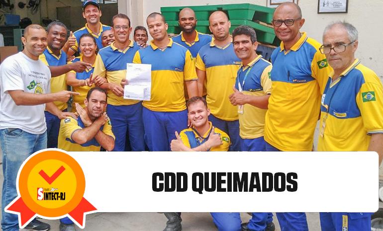 Trabalhadores do Rio de Janeiro fazem Festa com Vitória na Ação do Diferencial