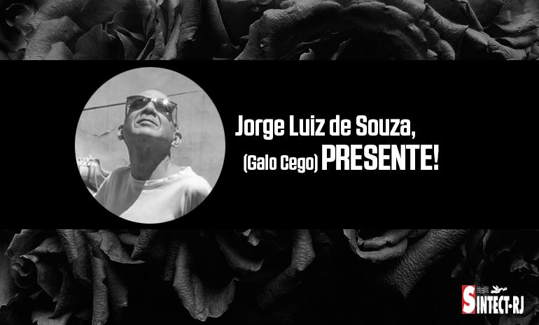 ⬛ LUTO: Jorge Luiz de Souza