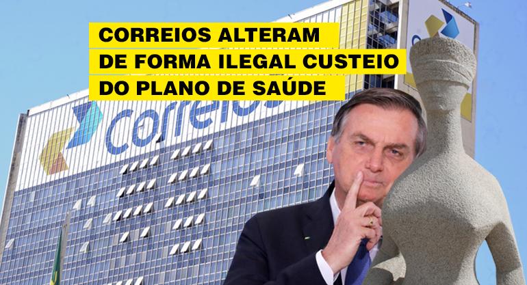 Governo Bolsonaro e Correios agem com maldade e empurram custos do plano de saúde aos trabalhadores