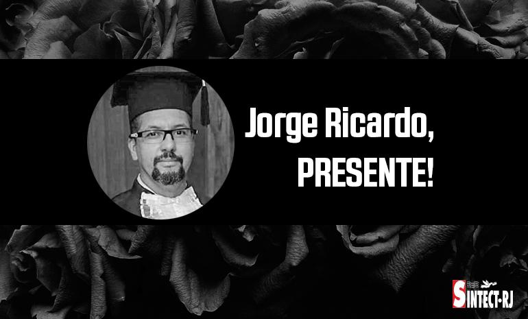 LUTO: Jorge Ricardo Pires de Oliveira