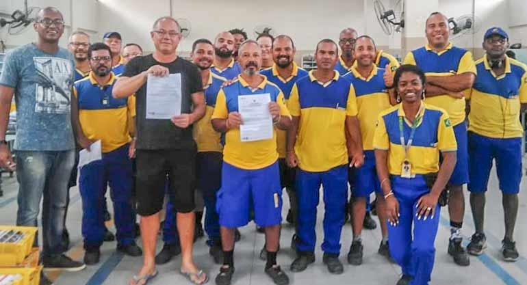SINTECT/RJ ganha Ação de PCCS e contempla trabalhadores dos CDD's Cocotá e…