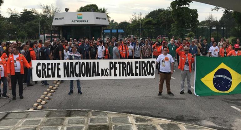 SINTECT-RJ manifesta apoio à greve dos trabalhadores da Petrobrás