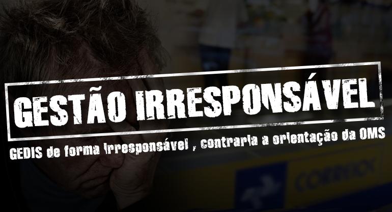 Coronavírus: atitude irresponsável dos gestores dos Correios contrariam orientação do SINTECT-RJ