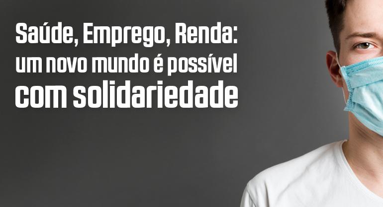"""Centrais farão 1º de Maio unificado com """"live do trabalhador"""" na Internet"""