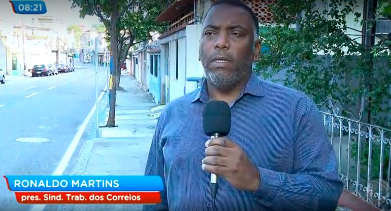 Sintect-RJ denuncia a falta de EPIs na TV