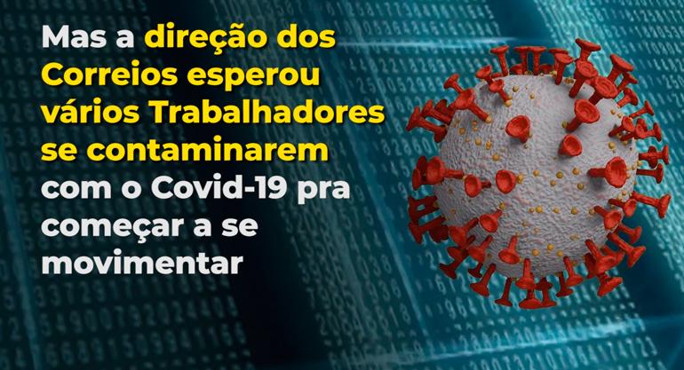 ▶ 7 trabalhadores dos Correios infectados por Covid-19 no Rio