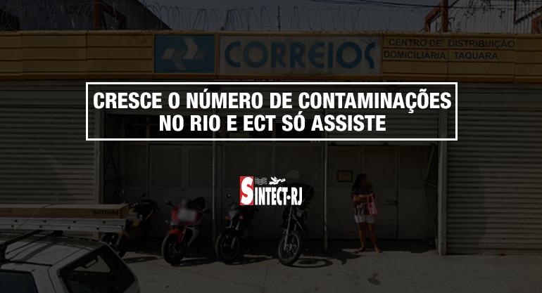 Sindicato paralisa CDD Taquara após carteiro adoecer com coronavírus