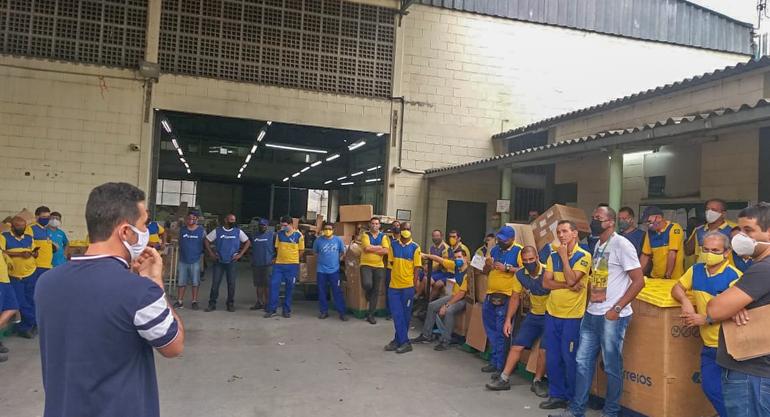 CEE Bangu: Por desrespeito à vida, SINTECT-RJ pressiona Correios e trabalhadores vão para o trabalho remoto