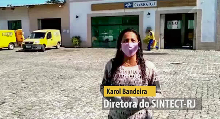 Vídeo – DENÚNCIA: CDD Rio das Ostras tem caso confirmado e ECT descumpre decisão judicial