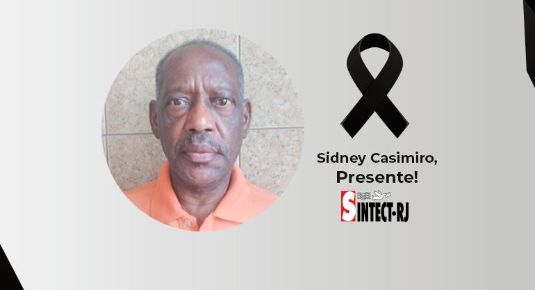 LUTO: Sidney Casimiro