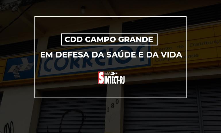 CDD Campo Grande: Trabalhadores lutam para proteger a saúde e a vida em meio ao descaso da GERAE-03