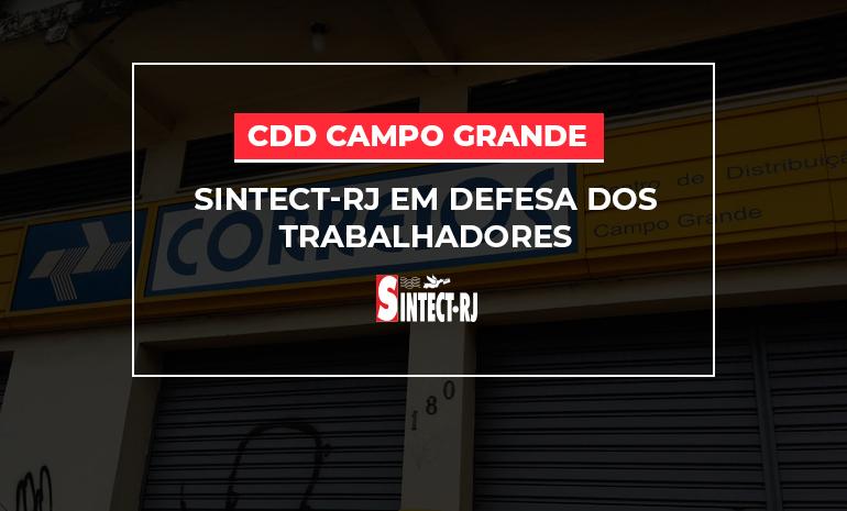Covid-19: Contaminação avança e ECT assiste o aumento de casos no CDD Campo Grande
