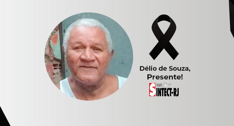 Nota de pesar pelo falecimento de Délio de Souza Clemente