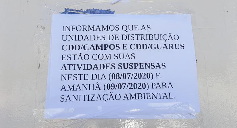 SINTECT/RJ denuncia GERAE 07 por expor trabalhadores de Campos ao risco de contaminação por covid-19