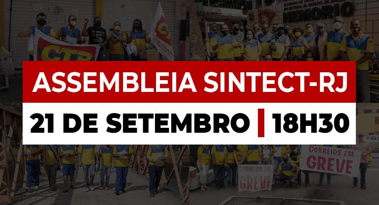 Com mobilização diária, SINTECT-RJ e trabalhadores reforçam resistência para o julgamento