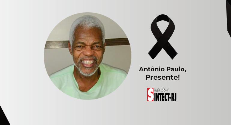 LUTO: Antônio Paulo de Oliveira