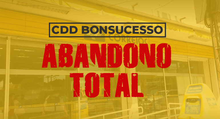 Abandono total: Trabalhadores do CDD Bonsucesso são despejados por falta de pagamento do aluguel