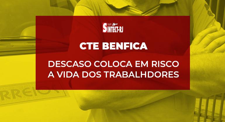 Pandemia agrava situação no CTE Benfica com abandono, descaso, imposição e negligência total!