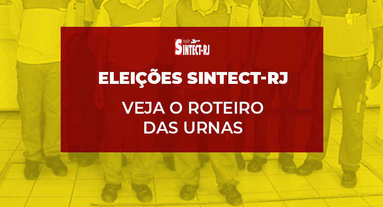BOLETIM ELEIÇÕES SINTECT-RJ