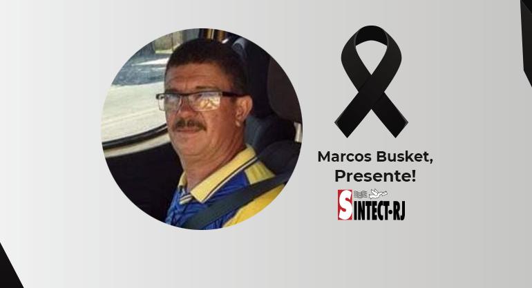 Luto: Marcos Busket