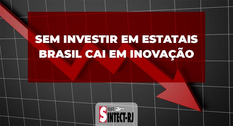 Brasil despenca em inovação em dez anos e faz dos Correios uma de suas vítimas