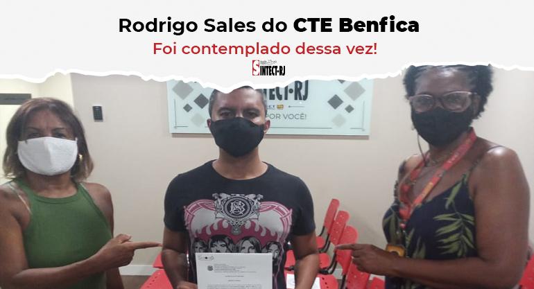 SINTECT/RJ entrega alvará com os valores devidos ao trabalhador do CTE Benfica