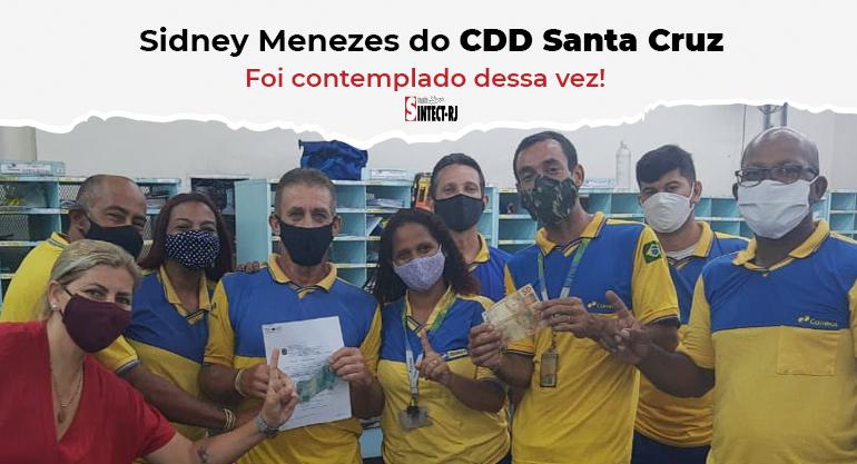 Trabalhador do CDD Santa Cruz recebe alvará de ação vitoriosa do diferencial de mercado