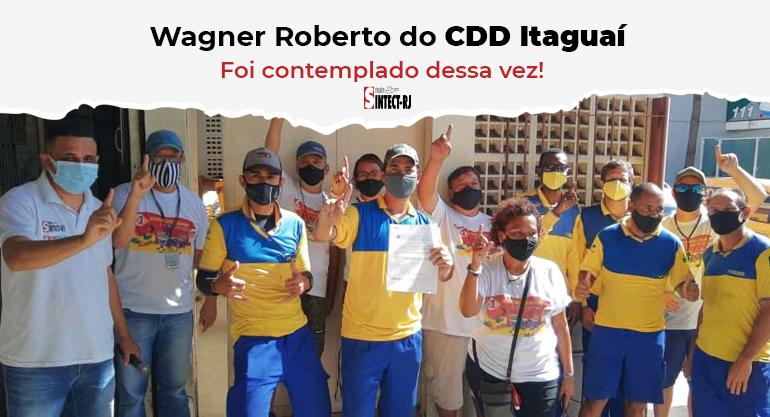 SINTECT/RJ entrega alvará com os valores devidos ao trabalhador do CDD Itaguaí