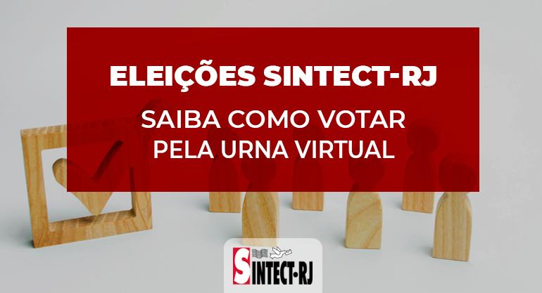 Tutorial: Como votar na Urna Virtual da Eleição do Sintect-RJ nos dias 23, 24 e 25 de Março