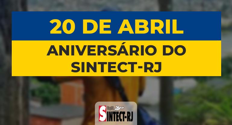 No aniversário de 32 anos, SINTECT-RJ reforça o compromisso de luta e resistência contra a privatização dos Correios