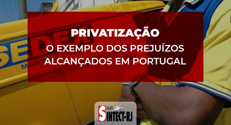 A farsa da privatização dos Correios: Exemplo de Portugal mostra prejuízos que ela traz para o povo, os trabalhadores e o país