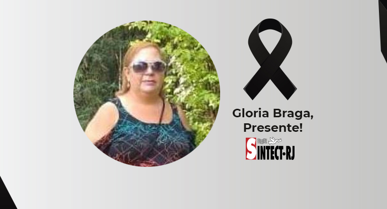 LUTO: Gloria Barbara Teixeira Braga
