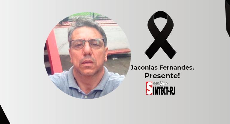 LUTO: Jaconias Fernandes de Souza