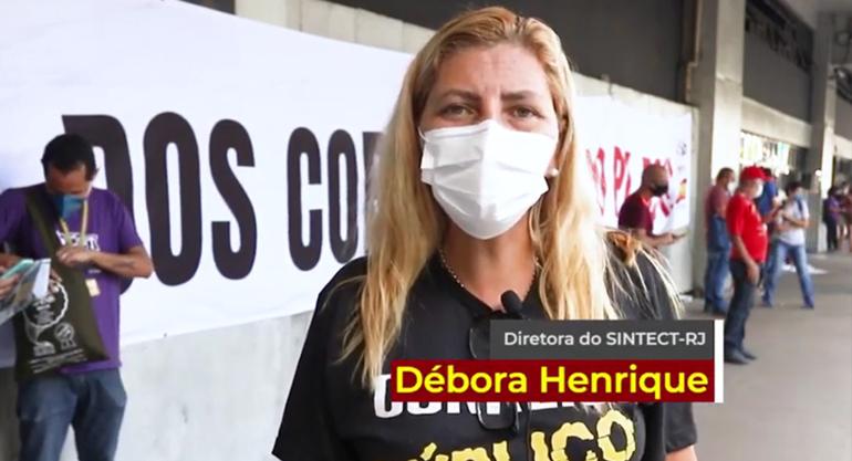 24J   Debora convoca categoria de Correios para ir as ruas…