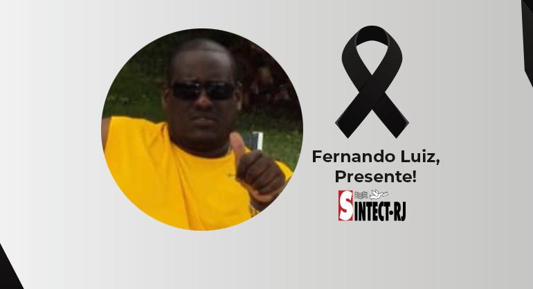 Luto: Fernando Luiz Dionísio