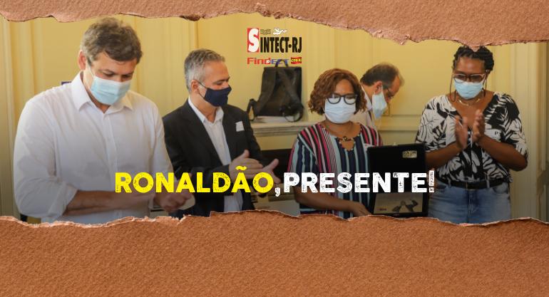 Moção na Câmara Municipal do Rio faz homenagem a Ronaldão