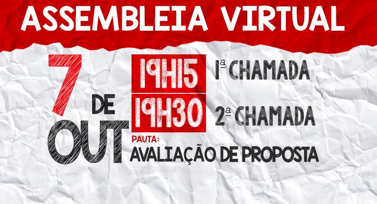 ASSEMBLEIA DO SINTECT-RJ DA CAMPANHA SALARIAL 2021/2022